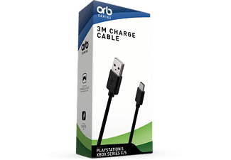 ORB 3M Charge Cable USB-C - PlayStation 5 / Xbox Series X|S
