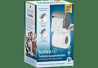 DIE HÖHLE DER LÖWEN Bideo Toilettenpapierhalter mit Befeuchtungsfunktion Grau