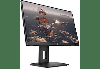 "Monitor gaming - HP X24ih, 23.8"" Full HD, 1 ms, 144 Hz, 350 cd/m², HDMI, DisplayPort, FreeSync, Negro"
