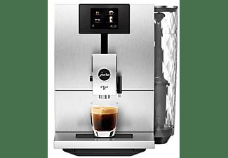 Cafetera superautomática - Jura ENA 8 Touch Massive Aluminium, 1450 W, 1.1 l, 15 bar, 1 Taza, Plata