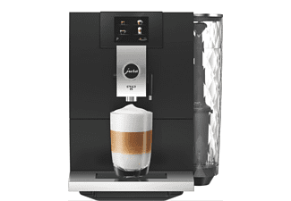 Cafetera superautomática - Jura ENA 8 Touch Metropolitan Black, 1450 W, 1.1 l, 15 bar, 1 Taza, Negro