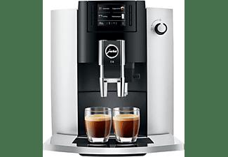 Cafetera superautomática - Jura E6 Platinum EB, 1450 W, 1.9 l, 15 bar, 2 Tazas, Molinillo integrado, Plata