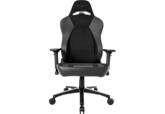AKRACING OBSIDIAN SOFTOUCH™ SUEDE Gaming Stuhl, Black