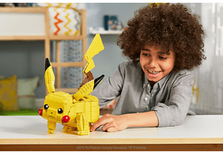 MEGA CONSTRUX Pokémon Jumbo Pikachu Bauset, Mehrfarbig