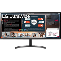 LG ELECTRONICS Monitor UltraWide 34WL500-B, 34 Zoll, UW-UXGA, 75Hz, 5ms, AH-IPS, 300cd, 99% sRGB, Schwarz