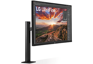 LG ELECTRONICS Monitor UltraFine 32UN880, 31.5 Zoll, UHD 4K, 60Hz, 5ms, IPS, 350cd, 95% DCI-P3, HDR10, Schwarz