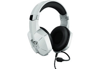 TRUST GXT 323W Carus, Over-ear Gaming Headset Weiß