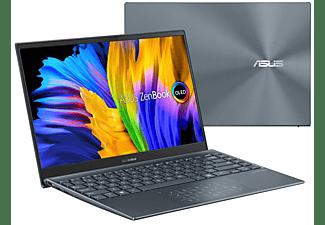 ASUS ZenBook 13 OLED UX325EA-KG327T, Notebook mit 13,3 Zoll Display, Intel® Core™ i5 Prozessor, 16 GB RAM, 512 GB SSD, Intel Iris Xᵉ Graphics, Pine Grey