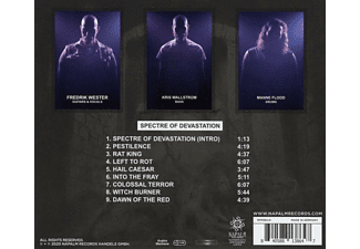 Warfect - SPECTE OF DEVASTATION  - (CD)