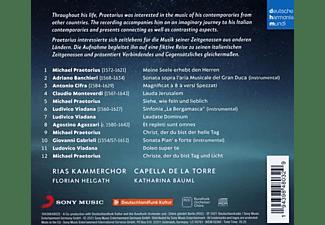 K. Rias Kammerchor/capella De La Torre/bäuml - PRAETORIUS AND ITALY  - (CD)