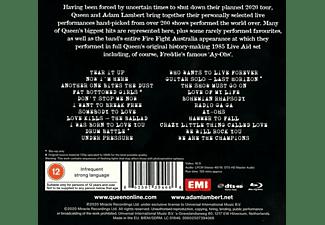 Adam Queen & Lambert - Live Around The World (CD+Bluray)  - (CD + Blu-ray Disc)