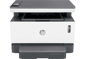 Impresora multifunción láser - B/N HP Neverstop Laser 1202nw, 600 x 600 DPI, WiFi, 20 ppm, Blanco