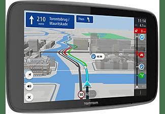 TOM TOM Navigationsgerät GO Discover (7 Zoll, Stauvermeidung dank TomTom Traffic, Welt-Karten)