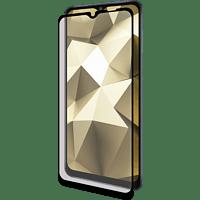 ISY Displayschutzglas IPG 5116-2.5D für Samsung Galaxy A12, Transparent/Schwarz