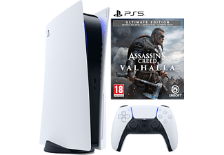 SONY PlayStation®5 + Assassin's Creed Valhalla Ultimate Edition