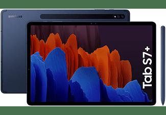 "Tablet - Samsung Galaxy Tab S7+, 128 GB, Azul, WiFi, 12.4"", 6 GB RAM, Snapdragon 865 Plus, Android 10"