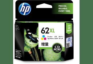 Cartucho de tinta - HP 62 XL, Tricolor, C2P07AE