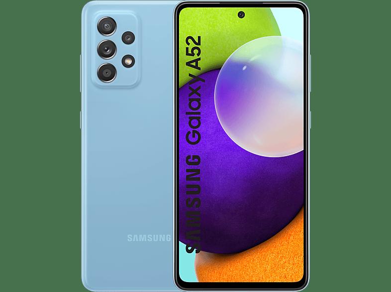 SAMSUNG Smartphone Galaxy A52 128 GB Awesome Blue (SM-A525FZBGEUB)