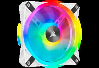 CORSAIR Lüfter iCUE QL120 RGB 120-mm-PWM-Einzellüfter, Weiß