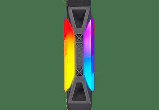 CORSAIR Lüfter iCUE QL120 RGB 120-mm-PWM-Einzellüfter, Schwarz