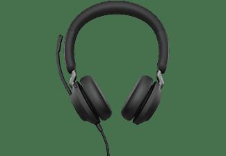 JABRA Headset Evolve2 40 - USB-A MS Stereo, schwarz