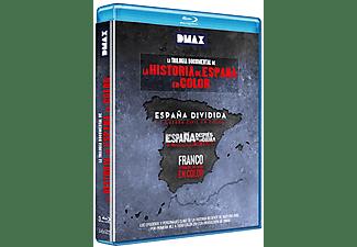 Pack La Historia de España en Color: Trilogía Documental (1-3) - Blu-ray