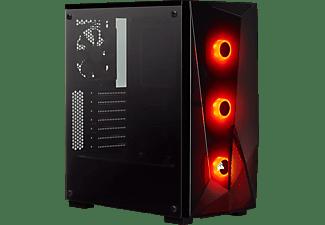 CORSAIR PC Gehäuse Carbide Series SPEC-DELTA RGB Schwarz, Glasfenster, ATX, Midi-Tower