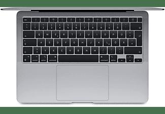 APPLE MacBook Air (M1,2020) MGN63D/A, Notebook mit 13,3 Zoll Display, 8 GB RAM, 256 GB SSD, M1 GPU, Space Grau