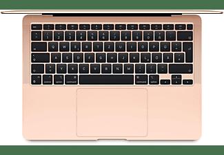 APPLE MacBook Air (M1,2020) MGND3D/A, Notebook mit 13,3 Zoll Display, 8 GB RAM, 256 GB SSD, M1 GPU, Gold