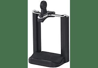 """Soporte móvil - Hama 00004637, Universal, Para trípodes y palos selfie, 8.20 cm, 1/4"""", Negro"""