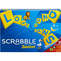 MATTEL Games Scrabble Junior Kinderspiel Mehrfarbig