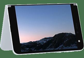 MICROSOFT Surface Duo, Convertible mit 8,1 Zoll Display, 6 GB RAM, 256 GB Flash, Adreno 640, Gletscher