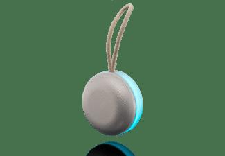 PEAQ PPA 46 Bluetooth Lautsprecher, Silber/Weiß