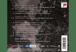 Nils / L'arte Del Mondo Mönkemeyer - VIVALDI/PAGANINI/TARTINI  - (CD)