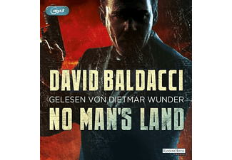 David Baldacci - No Man's Land  - (MP3-CD)