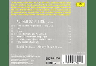 Daniel Hope, Alexey Botvinov - Schnittke: Works for Violin and Piano  - (CD)