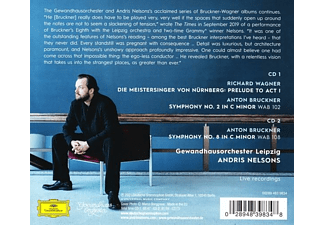 Andris Nelsons, Gewandhausorchester Leipzig - Bruckner: Symphonies Nos. 2 And 8 / Wagner: Meisters  - (CD)