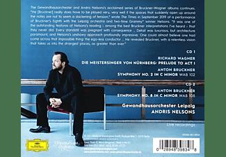 Andris Nelsons, Gewandhausorchester Leipzig - Bruckner: Sinfonien 8+2  - (CD)