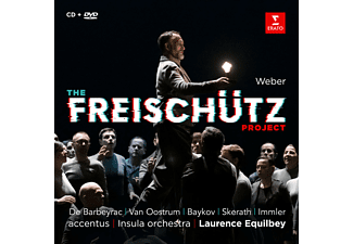 Equilbey/Insula Orchestra/Barbeyrac/+ - The Freischutz Project  - (CD + DVD Video)