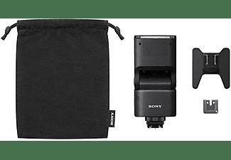 Flash - Sony HVL-F28RM, 5500K, Universal, P-TTL, Baterías Ni-MH o AA, Negro