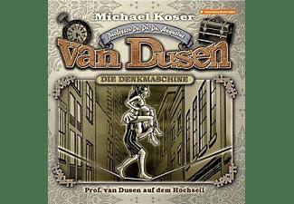 Professor Van Dusen - Prof.van Dusen auf dem Hochseil-Folge 28  - (CD)