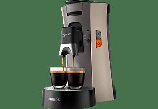 PHILIPS CSA240/30 SENSEO SELECT Kaffeepadmaschine, Beige/Kaschirgrau