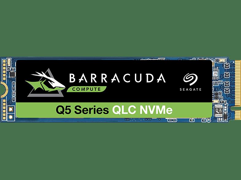 SEAGATE BarraCuda Q5 Festplatte Bulk, 500 GB SSD PCI Express, intern