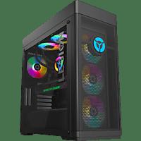 LENOVO Gaming PC Legion T7, i7-10700K, 32GB RAM, 1TB SSD, RTX 3080, Wasserkühlung, Schwarz (90Q8004DGE)