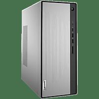 LENOVO Desktop PC IdeaCentre 5, R5-4600G, 16GB RAM, 512GB SSD, RX550X, DVD, Mineral Grey (90Q30041GE)