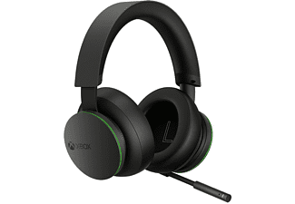 MICROSOFT Xbox Wireless Headset, Over-ear Gaming Headset Bluetooth Schwarz