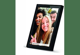 BRAUN PHOTOTECHNIK Digiframe 1018 WiFi Digitaler Bilderrahmen, 25,65 cm, 1.280 x 800 Pixel, Schwarz