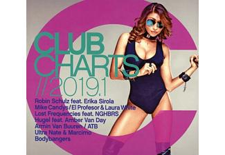 VARIOUS - Club Charts 2019.1  - (CD)