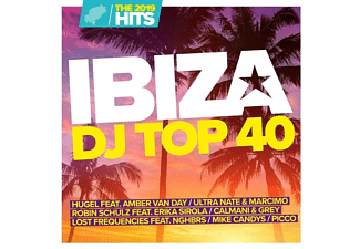 VARIOUS - Ibiza DJ Top 40-The Hits 2019  - (CD)