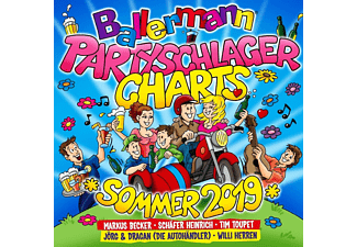 VARIOUS - Ballermann Partyschlager Charts-Sommer 2019  - (CD)